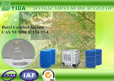 China Liquid Ethylene Glycol Monobutyl Ether Acetate Mild Odor Butyl Carbitol Acetate factory