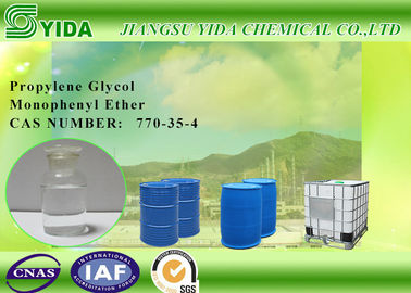 China Cas 770-35-4 Propylene Glycol Phenyl Ether With Lower Surface Tension supplier