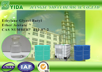 China Slow Evaporating Ethylene Glycol Butyl Ether Acetate Cas No. 112-07-2 With SGS Standard factory