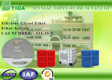 China Nitro - Cotton Solvent Ethylene Glycol Ethyl Ether Acetate 156°C Boiling Point supplier