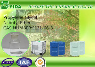 China Low water solubility Propylene Glycol Monobutyl Ether Cas No 5131-66-8 With 27.5 Surface Tension supplier
