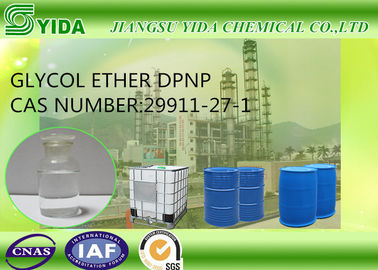 China Slow Evaporating Solvent Glycol Ether DPNP Cas No 29911-27-1 With 11.4 Viscosity supplier