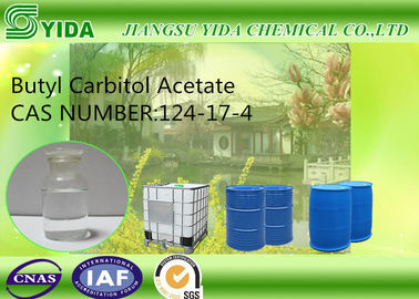China Coalescing Solvent Butyl Carbitol Acetate Cas No 124-17-4 With Excellent Film Formation factory