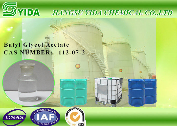 High Boiling Point Ethylene Glycol Monobutyl Ether Acetate / Butyl Glycol Acetate supplier