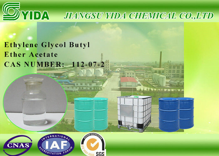 IBC Drums Package Ethylene Glycol Butyl Ether Acetate Solvent For Printing Inks supplier